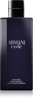 Armani Code sprchový gél pre mužov 200 ml