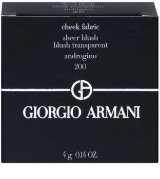 Armani Cheek Fabric blush cu efect iluminator