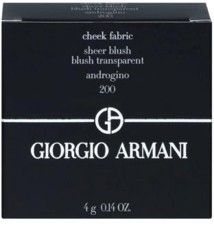 Armani Cheek Fabric rozjasňující tvářenka