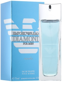 Armani Emporio Diamonds Rocks Eau de Toilette para homens 75 ml