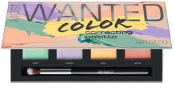Artdeco Cover & Correct Most Wanted Palette mit Korrekturstiften gegen die Unvollkommenheiten der Haut