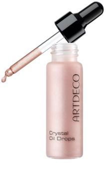 Artdeco Crystal Garden posvetlitveno olje z bleščicami za obraz, telo in lase