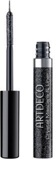 Artdeco Crystal Garden Mascara și creion contur cu particule stralucitoare