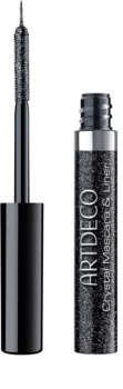 Artdeco Crystal Garden Mascara und Eyeliner mit Glitzerteilchen