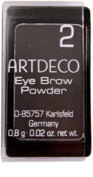Artdeco Eye Brow Powder pudr na obočí v praktickém magnetickém pouzdře