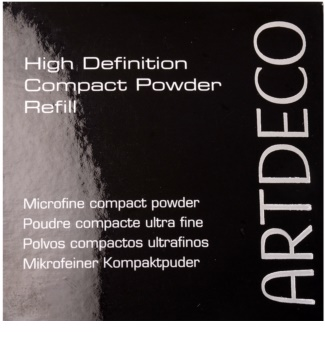 Artdeco High Definition pudra compacta rezervă
