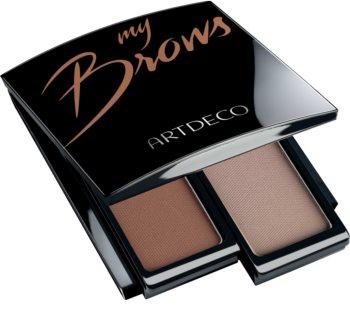 Artdeco Let's Talk About Brows paleta do makijażu