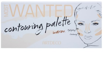 Artdeco Most Wanted Krémes highlight és kontúr paletta