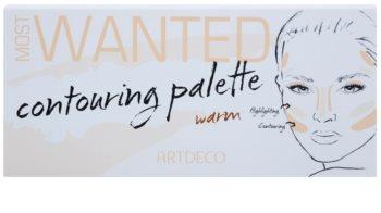 Artdeco Most Wanted paleta para contorno de rosto