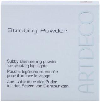 Artdeco Strobing pudra pentru luminozitate pentru look perfect