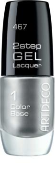 Artdeco 2 Step Gel Laquer Color Base gelový lak na nehty
