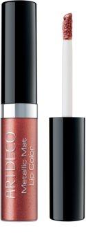 Artdeco Metallic Mat Lip Color Langaanhoudende Vloeibare Lippenschift  met Matterend Effect