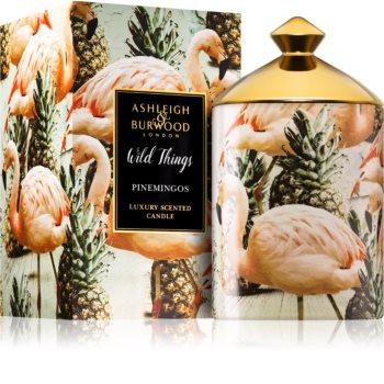 Ashleigh & Burwood London Wild Things Pinemingos bougie parfumée (Coconut & Lychee) 320 g