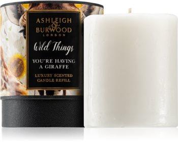 Ashleigh & Burwood London Wild Things You're Having A Giraffe bougie parfumée recharge