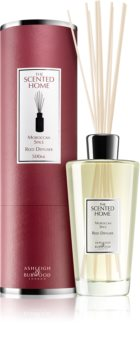 Ashleigh & Burwood London The Scented Home Moroccan Spice diffuseur d'huiles essentielles avec recharge 500 ml