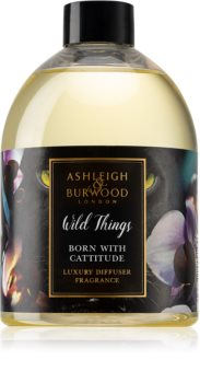 Ashleigh & Burwood London Wild Things Born With Cattitude recharge pour diffuseur d'huiles essentielles