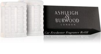 Ashleigh & Burwood London Car Coconut & Lychee ambientador auto 2 x 5 g recarga de substituição