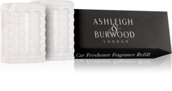 Ashleigh & Burwood London Car Sicilian Lemon Auto luchtverfrisser  2 x 5 gr Vervangende Vulling