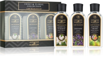 Ashleigh & Burwood London Lamp Fragrance Sweet & Floral Geschenkset III. Jasmine & Tuberose, Lavender, Japanese Orchid