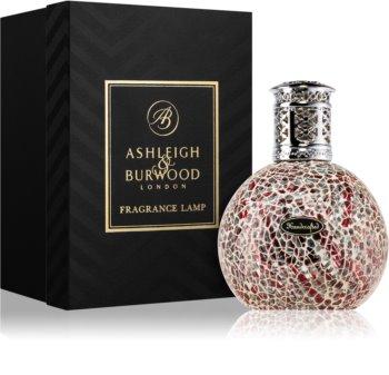 Ashleigh & Burwood London Silver Red katalytická lampa   malá 11 x 8 cm
