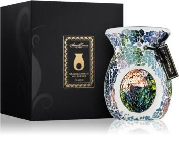 Ashleigh & Burwood London Lunar Eclipse Glass Aroma Lamp