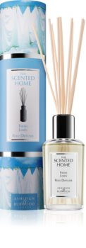 Ashleigh & Burwood London The Scented Home Fresh Linen diffuseur d'huiles essentielles avec recharge 150 ml