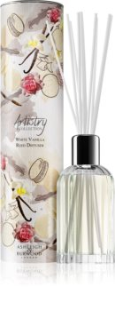Ashleigh & Burwood London Artistry Collection White Vanilla diffuseur d'huiles essentielles avec recharge 200 ml