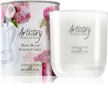 Ashleigh & Burwood London Artistry Collection Peony Blush bougie parfumée 200 g