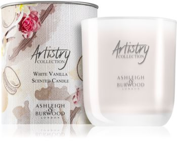 Ashleigh & Burwood London Artistry Collection White Vanilla Scented Candle 200 g