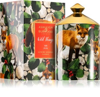 Ashleigh & Burwood London Wild Things Mr Fox duftkerze  320 g