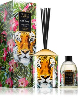 Ashleigh & Burwood London Wild Things Crouching Tiger diffuseur d'huiles essentielles avec recharge