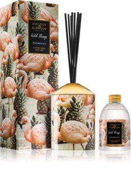 Ashleigh & Burwood London Wild Things Pinemingos diffuseur d'huiles essentielles avec recharge (Coconut & Lychee)