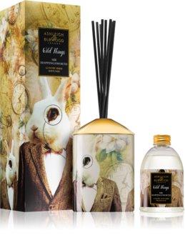 Ashleigh & Burwood London Wild Things Sir Hoppingsworth Aroma Diffuser met vulling 200 ml  (Cognac & Leather)