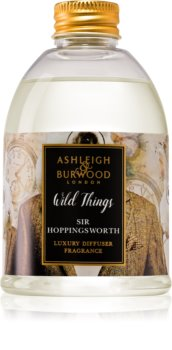 Ashleigh & Burwood London Wild Things Sir Hoppingsworth Aroma Diffuser met vulling 200 ml  (Cognac & Leather)