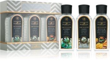 Ashleigh & Burwood London Lamp Fragrance New Season Geschenkset I. Summer Rain, White Velvet, Mango & Nectarine
