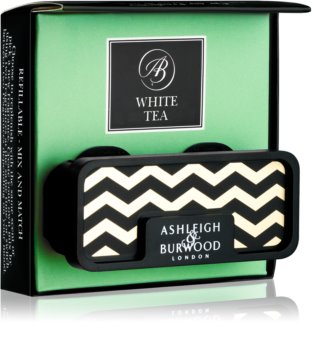 Ashleigh & Burwood London Car White Tea Autoduft   Clip
