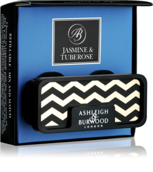 Ashleigh & Burwood London Car Jasmine & Tuberose car air freshener Clip