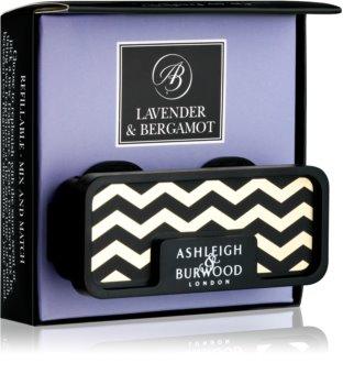 Ashleigh & Burwood London Car Lavender & Bergamot Car Air Freshener   Clip