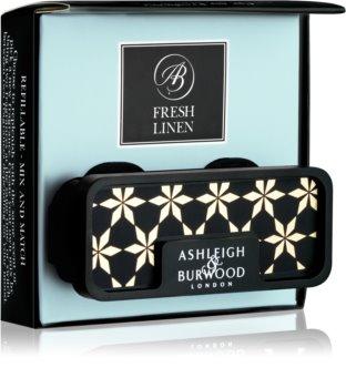Ashleigh & Burwood London Car Fresh Linen Auto luchtverfrisser    Clip