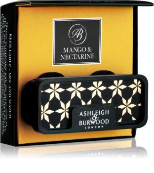 Ashleigh & Burwood London Car Mango & Nectarine ambientador de coche para ventilación clip