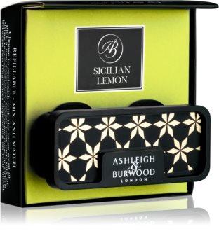 Ashleigh & Burwood London Car Sicilian Lemon Car Air Freshener   Clip