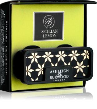 Ashleigh & Burwood London Car Sicilian Lemon désodorisant voiture   clip