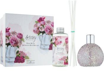 Ashleigh & Burwood London Artistry Collection Peony Blush aroma difuzor s polnilom