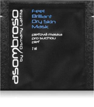 Asombroso by Osmany Laffita Feel Brilliant hidratáló maszk száraz bőrre