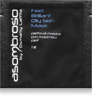 Asombroso by Osmany Laffita Feel Brilliant Smoothing Mask for Oily Skin