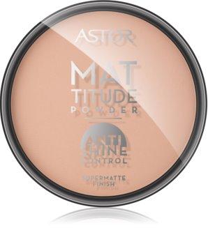 Astor Mattitude Anti Shine матуюча пудра
