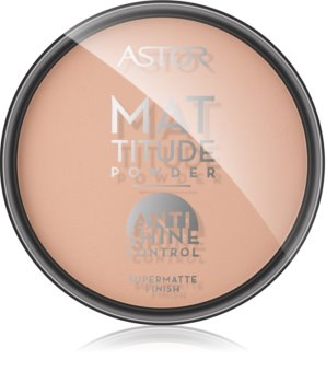 Astor Mattitude Anti Shine матуюча пудра