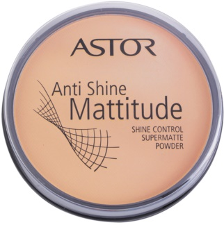 Astor Mattitude Anti Shine pudra matuire