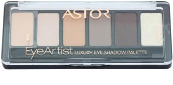 Astor Eye Artist Palette mit Lidschatten mit einem  Applikator