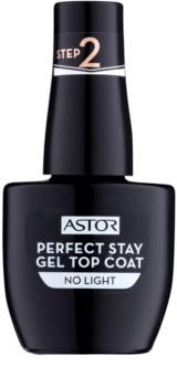 Astor Perfect Stay Gel Top Coat lac top de unghii cu textură gel, fără utilizarea lămpii UV/LED